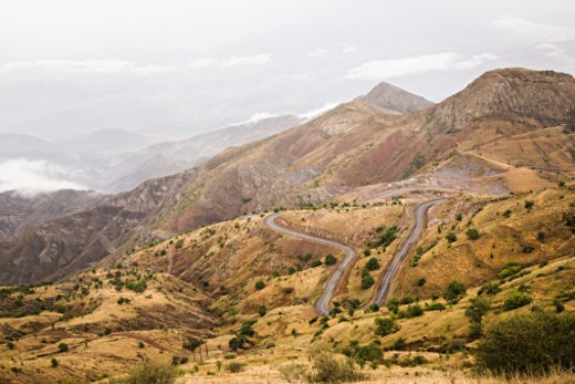 Elburz Mountains, Iran : Stock Photo
