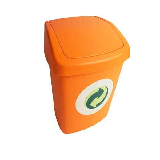 German Recycle Bin : Stock Photo