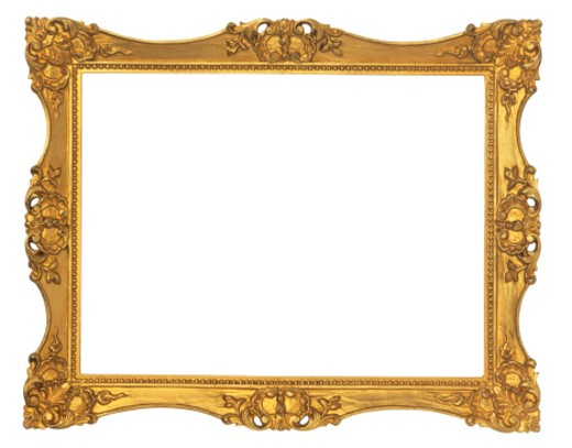Stock Photo: 1598R-107058 Ornate Picture Frame