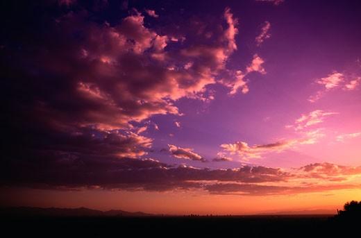 Arizona Sunset : Stock Photo