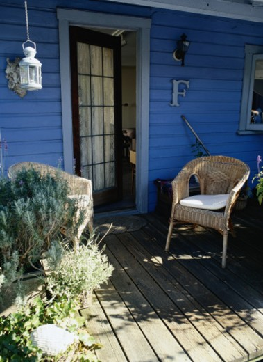 Stock Photo: 1598R-108640 Porch
