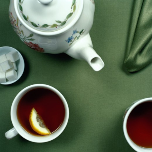 Stock Photo: 1598R-111994 Hot Tea