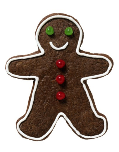 Gingerbread Man : Stock Photo