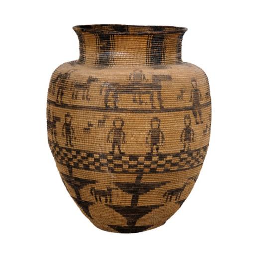 Woven Basket : Stock Photo