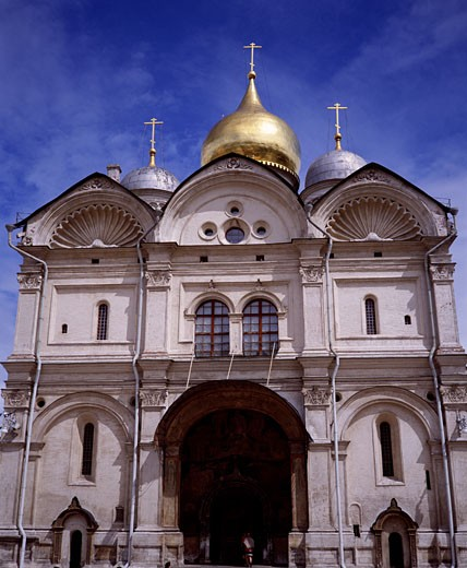 Russia, Moscow, Church of Archangel Michael : Stock Photo