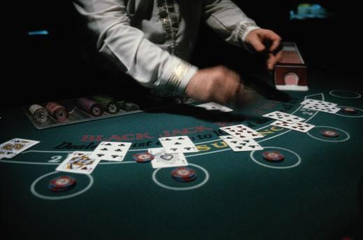 Blackjack Game : Stock Photo