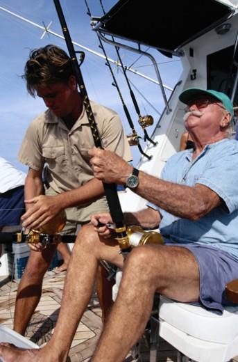Deep Sea Fishing : Stock Photo