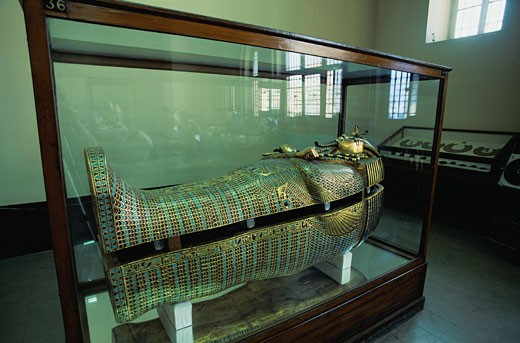 King Tut's Coffin : Stock Photo