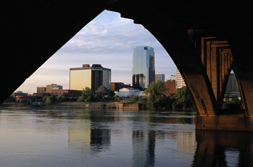 Stock Photo: 1598R-127858 Little Rock Skyline