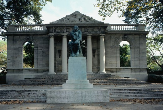 Facade of Rodin Museum, Philadelphia, PA, USA : Stock Photo
