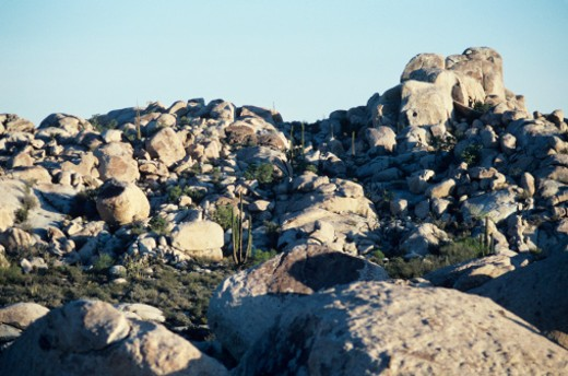 Rock formations in Baja, Mexico : Stock Photo