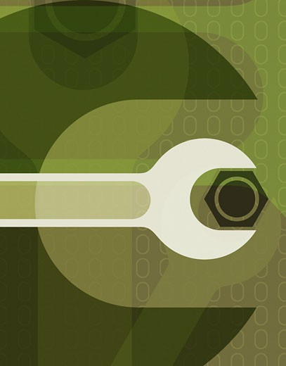 Wrench, Abstract : Stock Photo
