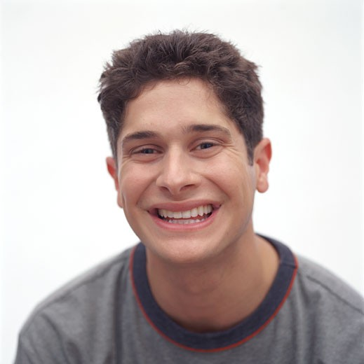Stock Photo: 1598R-151110 Portrait of a Smiling Young Man
