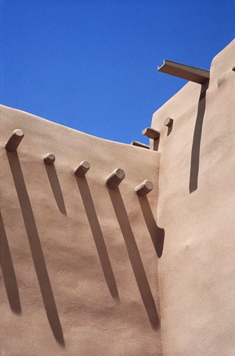 Stock Photo: 1598R-151960 Corner of a Building in the West