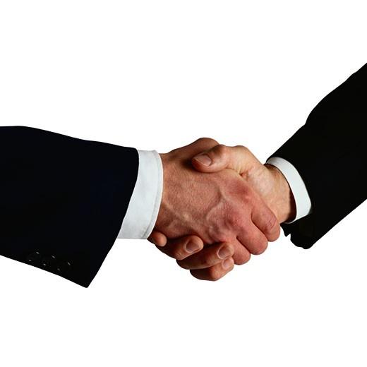 Handshake : Stock Photo