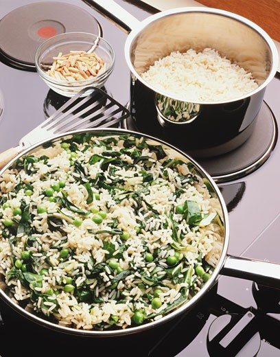 Rice Dish : Stock Photo
