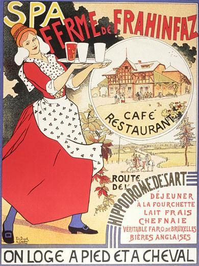 Stock Photo: 1598R-156044 Ferme de Frahinfaz - A Cafe and Restaurant