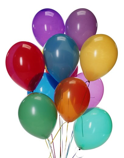 Stock Photo: 1598R-157370 Balloons