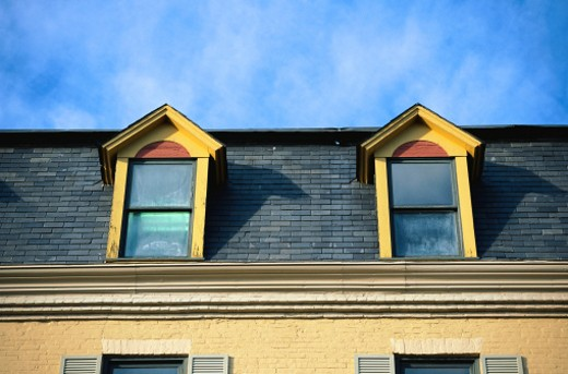 Stock Photo: 1598R-157803 House Windows