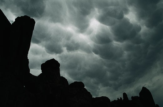 Storm over Big Bend : Stock Photo