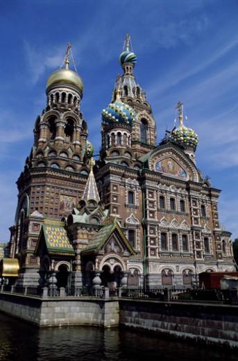 Stock Photo: 1598R-162936 Russia, St Petersburg, Spas Na Krovi Church