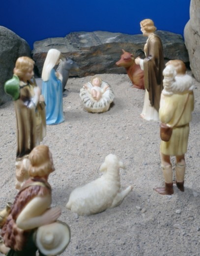 Nativity Scene : Stock Photo