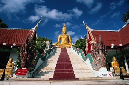 Samui Island, Thailand -- Big Buddha : Stock Photo