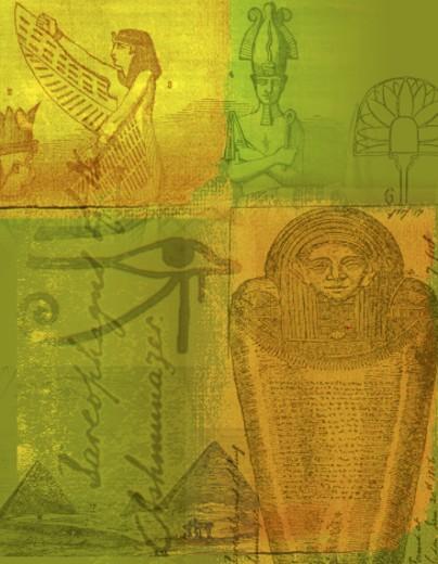 Egyptian Icons : Stock Photo