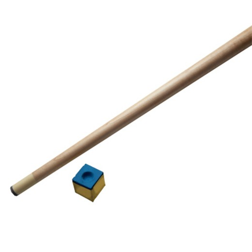 Stock Photo: 1598R-163744 Cue Stick and Chalk