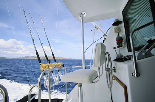 Stock Photo: 1598R-163774 Deep Sea Fishing