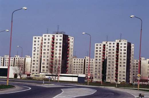 Russian Apartments : Stock Photo