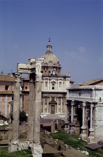 Stock Photo: 1598R-164843 Roman Forum