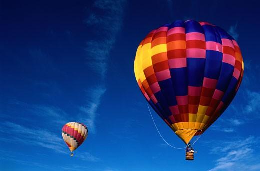 Stock Photo: 1598R-182376 Balloon Fiesta in Albuquerque, New Mexico