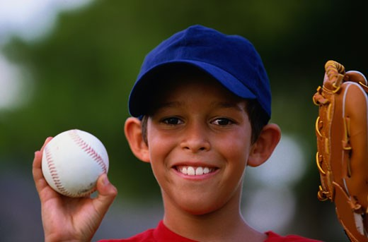 Young Baseball Player : Stock Photo