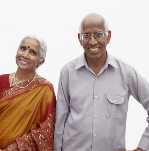 Stock Photo: 1598R-190019 Mature couple, portrait