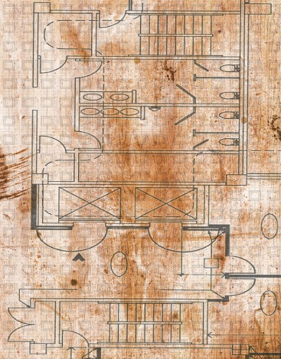 Stock Photo: 1598R-193769 Close-up of a Blueprint