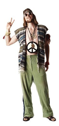 Stock Photo: 1598R-196330 Hippie