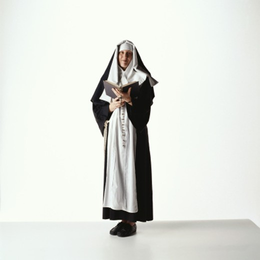 Nun : Stock Photo