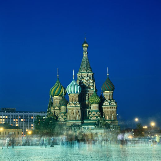 St. Basil's Cathedral in Moscow : Stock Photo