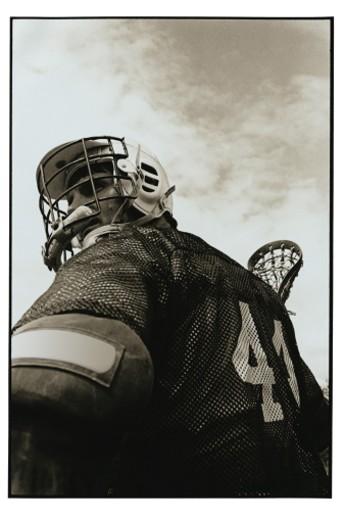 Lacrosse Athlete : Stock Photo