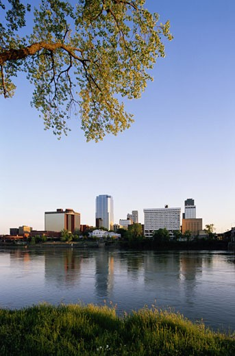 Little Rock Skyline : Stock Photo