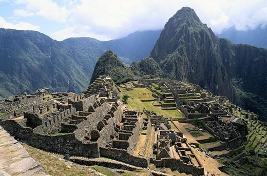 Stock Photo: 1598R-205078 Machu Picchu