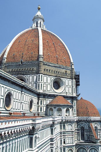 High section view of Santa Maria del Fiore Cathedral, Florence, Tuscany, Italy : Stock Photo