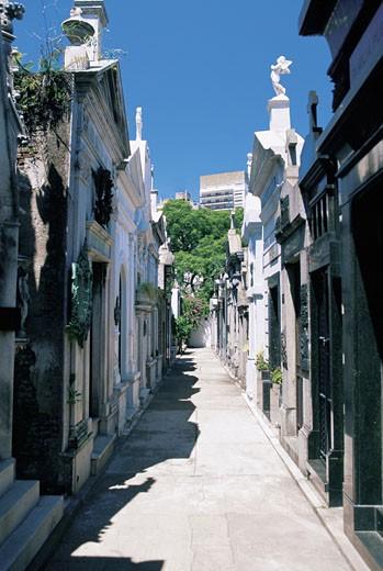 Cemetery of Recoleta, Buenos Aires, Argentina : Stock Photo