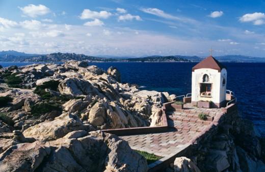 Stock Photo: 1598R-226806 Italy, Sardinia, Maddalena Island, Cala dei Francesi, Seacoast
