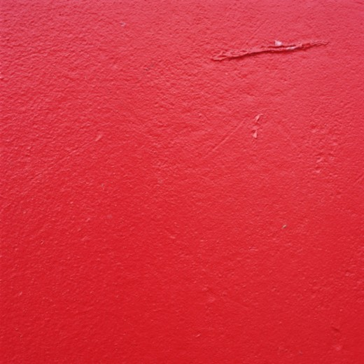 Stock Photo: 1598R-230325 Red Painted Wall Background