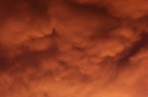 Storm Cloud : Stock Photo