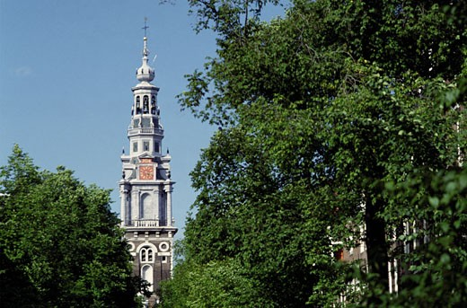 Zuiderkerk Spire : Stock Photo