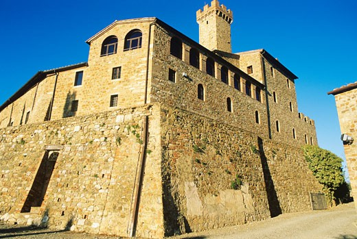 Stock Photo: 1598R-241054 Italy, Tuscany, Castello Banfi