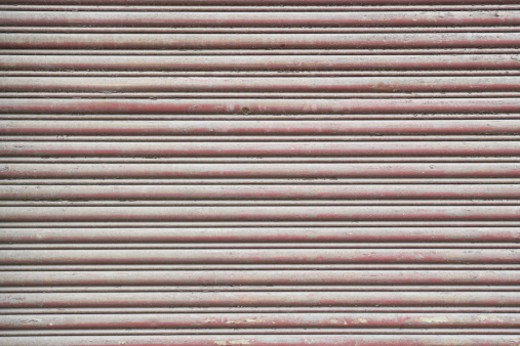 Stock Photo: 1598R-244032 Corrugated steel (full frame)